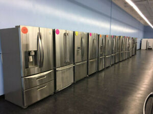 SUPER SALE - French Door Stainless Steel Fridges