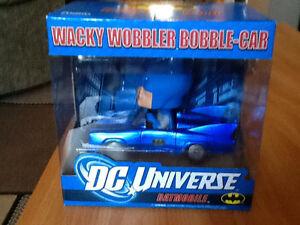 *RARE* FUNKO WACKY WOBBLER DC UNIVERSE BOBBLE BATMOBILE London Ontario image 1