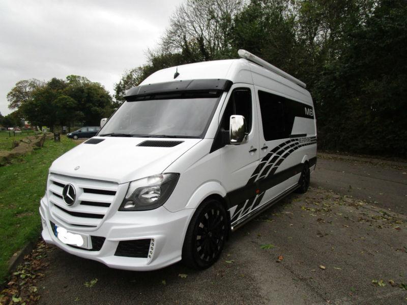 2013 Race Van Mercedes 316 Sprinter LWB Large Garage For Sale Ref 11242
