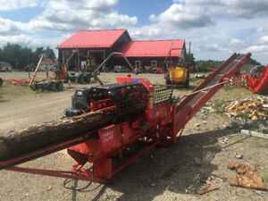 Used Expert 37 Hakki Firewood Processor with own Engine