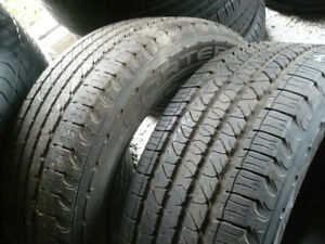 Two 265-50-20 tires $200.00
