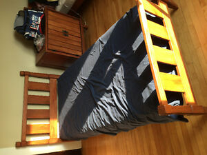 Kids bedroom set - 2 twins, nightstand, dresser, and desk