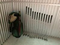 Golf club set and golf bag
