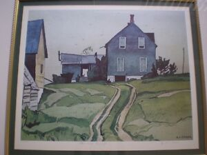 "A.J. Casson-""Farm House, Bancroft""-Limited Edition Print Kitchener / Waterloo Kitchener Area image 2"