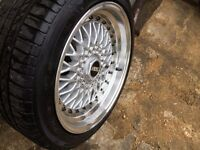 "BBS style X2 17"" wheels multi fitment 5x100 and 5x120. 10J DEEP ET30 225"