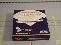 SINGAPORE AIRLINES B747-412 / LAST FLIGHT L'ORIGINAL 9V-SPQ