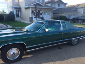 1976 Lincoln Continental, $10,000, send message for more details