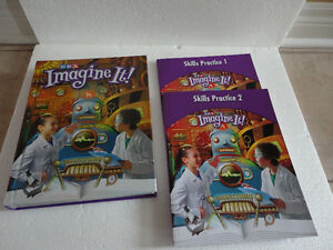 SRA Imagine It 4th grade Reading Textbook hardcover Brand New London Ontario image 1
