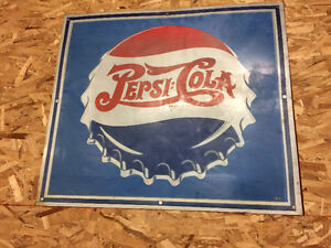 Pepsi Collectors Attention