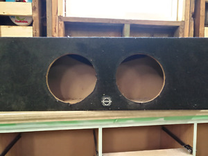 "Low profile 10"" bassworks box"