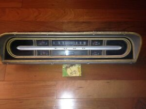 1967-72 Ford F100 F250 Instrument Cluster Panel Dash Bezel Gauge