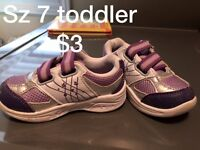 Toddler girls shoes/boots/sandals