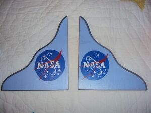 Accessories make a 2ft wide bookcase into Nasa Rocket Bookcase