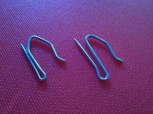Pack of 100 metal 1 inch curtain hooks