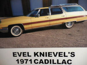 Evel Knievel's 1971 rare Cadillac ElDeora low mile celebrity