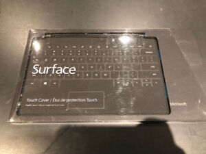 Black Microsoft Surface Touch Cover (Keyboard Cover)