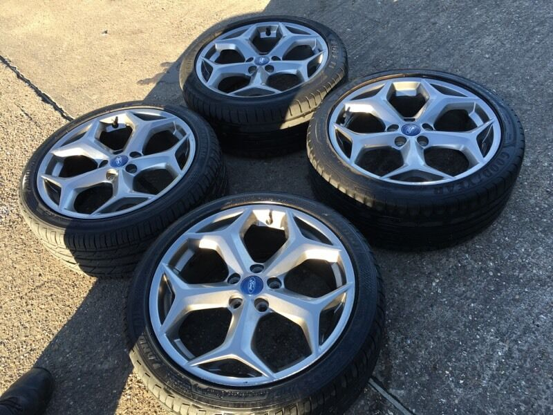 """18"""" Ford Focus st alloy wheels transit connect custom"""
