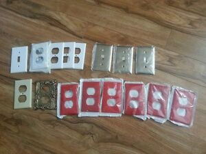 Lot of face plates