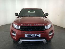 2012 RANGE ROVER EVOQUE DYNAMIC SD4 AUTOMATIC 190 BHP DIESEL FINANCE PX