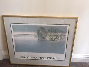 Christopher Pratt Print 'The Lynx'