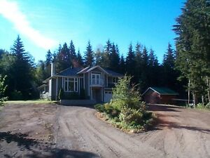 Quality finished home on 7 acres