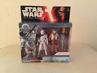 Star Wars Force Awakens 2 Pack sealed toys