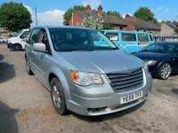 2009 Chrysler Grand Voyager 2.8 CRD Touring Automatic Diesel SPARES OR REPAIR )