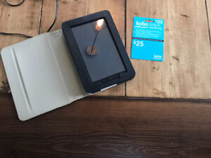 Kobo Vox with $25.00 Gift Card and Case