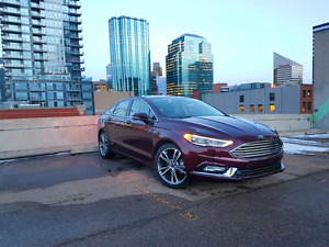 2017 Ford Fusion Titanium RARE COLOR