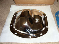 Polished Stainless Steel Diff Cover for Dana 25, 27 & 30  Front