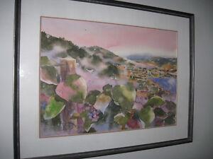 Original Alex Fong- Penticton landscape