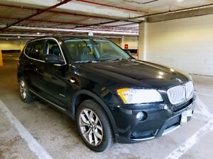 BMW Certified 2012 BMW X3, low kilometers and perfect condition