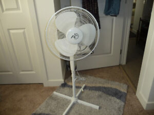 Fan - 3 speed oscillating, excellent condition