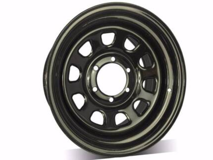 "4x4 Sunraysia rims steel wheels trailer wheels 13"" TO 17"" From$50"