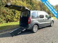 2015 Peugeot Partner Tepee 5 Seat Wheelchair Accessible Disabled Access Ramp Car