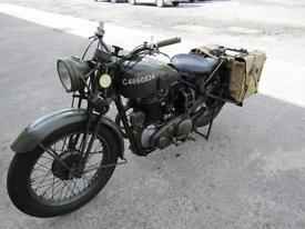 BSA WD M20 MANUFACTURED 1942 NICE CLEAN BIKE