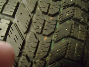 4-185-65R-14 Firestone Winter Tires for sale Stratford Kitchener Area image 3