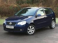 Volkswagen Polo 1.4 TDI Match 5dr DIESEL MANUAL 2008/08