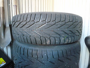 Four 245/65/17 Hakkapeliita (Nokian) R2 SUV Winter tires & rims Peterborough Peterborough Area image 3