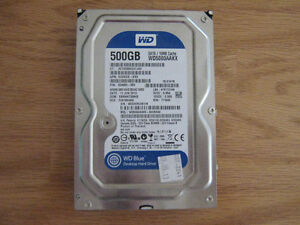WD 500gb HD