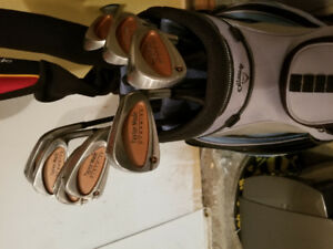 TAYLORMADE BURNER OVERSIZE GRAPHITE BUBBLE SHAFT IRONS R.H.