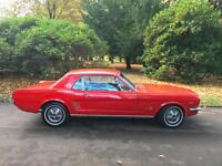 1966 Ford Mustang V8 289 Auto Coupe We are a Family Business Est 18 years