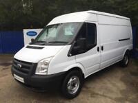 2012 62 Ford Transit 2.2TDCi ( 125PS ) ( RWD ) 350M Med Roof Van 350 LWB Van
