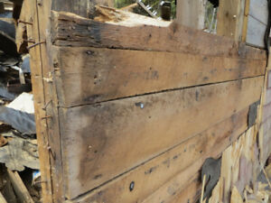 barn boards and lumber for sale must be dismantled