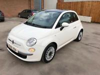 2011 61 FIAT 500 1.2 LOUNGE (S/S) 3DR