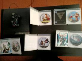 Playstation 3 , assassin's creed, GTA IV and GTA V