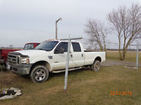 i have 2006 ford f350 diesel runs great trade for the following