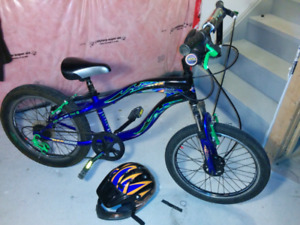 Youth fast and furious bike and full face mongoose helmet