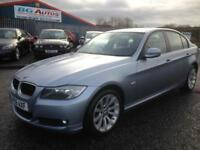 09 BMW 318d 2.0 TD SE 6 SPEED 140 BHP METALLIC BLUE