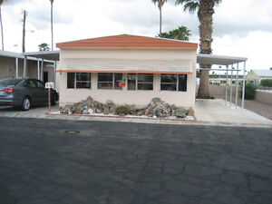 YUMA DOUBLE WIDE ON PARK FOR SALE
